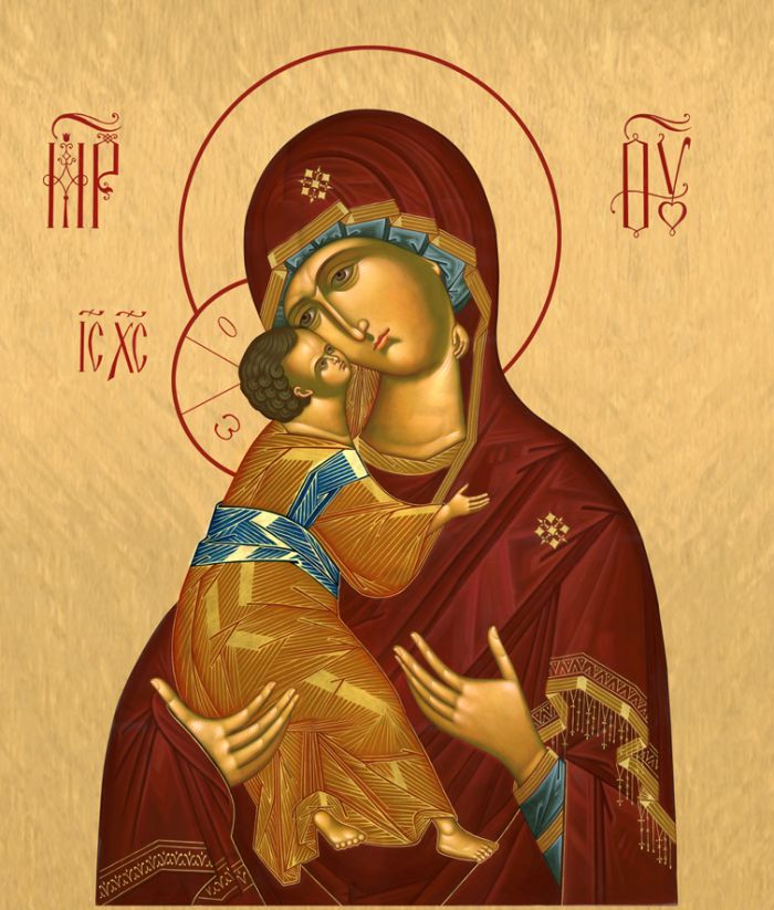 Христианская вера, православие, богоматери владимирская, иконопись, икона, древняя икона