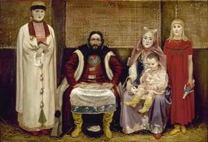 Андрей Рябушкин. Купеческая семья XVII века