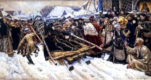 Картина Василия Сурикова «Боярыня Морозова», 1887 год