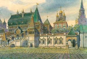 Московский Кремль при Иване 3-м