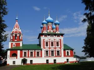 Церковь св. Дмитрия. XVII век. Углич.