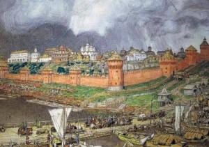 Васнецов А. М. Московский кремль при Иване III