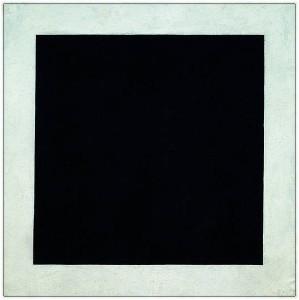 Казимир Малевич. Чёрный квадрат.