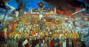 «Вечная Россия». Илья Глазунов, 1988 год.